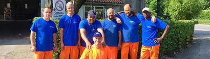 La squadra del Centro Recupero Trevigiano